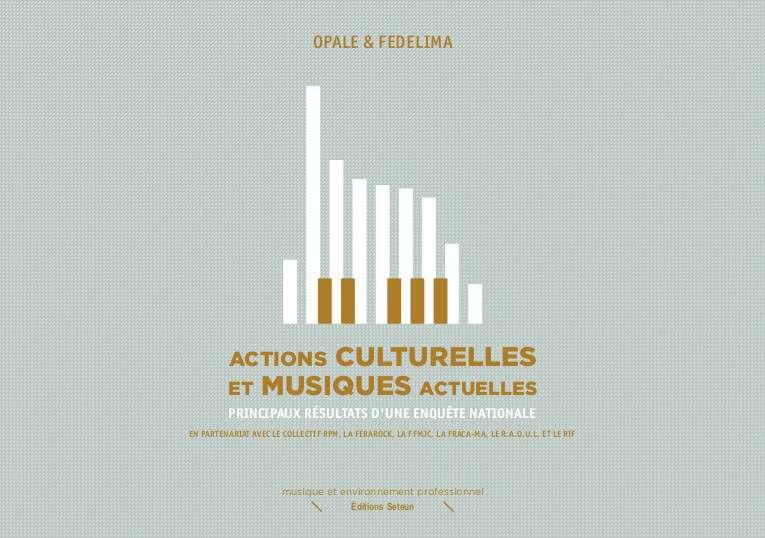 2 Actions Culturelles Et Musiques Actuelles 2012